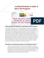 TWIN BALANCE SHEET PROBLEMS IN INDIA.docx