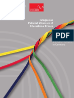 Guidelines for Social Workers and Care Providers in Germany - Refugees as Potential Witnesses of International Crimes-2019