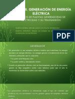2.1 Tipos de Plantas Generadoras de Electricidad y Su Transmisión