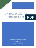 Unidad didáctica Dustan Moreira Santo Tomás