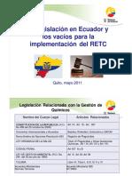 Vacios Legales Ecuador