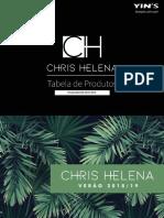 TABELA CHRIS HELENA
