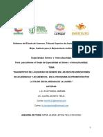 TESINA ANALISIS CON PERSPECTIVA DE GENERO DE RECATEGORIZACIONES (1)