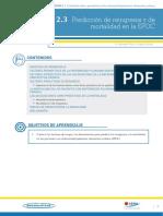 Predicción de reingresos y de mortalidad en EPOC