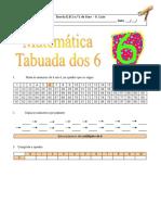 ficha de matemática - tabuada dos 6(1)