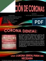 PREPARACIÓN DE CORONAS