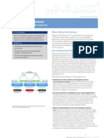 FINAL Fault Tolerance Data Sheet 031909
