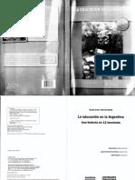 Arata, N. y Mariño, M. - La Educación en Argentina. Una historia en lecciones  - copia.pdf