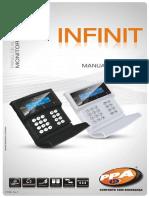 P27398 - MANUAL TECNICO PAINEL DE ALARME INFINIT (REV 1)