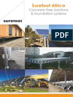 Surefoot Africa-introduction brochure