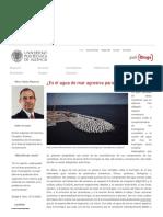 ¿Es el agua de mar agresiva para el hormigón_ – El blog de Víctor Yepes