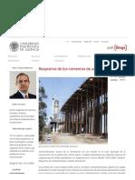 Requisitos de los cimientos de una cimbra – El blog de Víctor Yepes