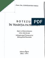 Constantin Voicu - Botezul în tradiția patristica