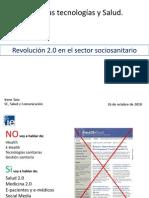 Revolución 2.0 en el sector sociosanitario