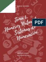 Tema 1. Números Naturales. Sistemas de Numeración