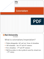 Colonalism and Types