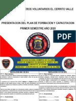 PRESENTACION CURSO INSPECTOR BOMBEROS
