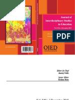 Journal of interdisciplinary Studies in Education, 2019 Vol 8 No 2