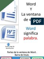 word exposicion