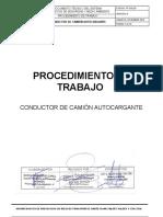 PT-SGI-29 CONDUCTOR DE CAMIÓN  AUTOCARGANTE