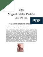El Ebo por Miguel Febles (traducido al espanol por Victor Bethancourt)