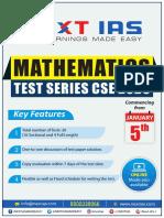 Maths test series schedulereplacement