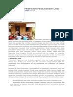 Tips Dasar Pembentukan Perpustakaan Desa