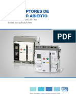 WEG-interruptores-de-bastidor-abiertos-50022749-catalogo-es
