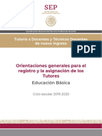 TUTORÍA ORIENTACIONES GENERALES_EB 2019-2020