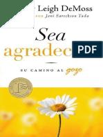 Sea Agradecido - Su Camino al Gozo (Nancy Leigh DeMoss)