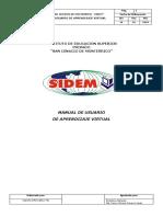 4 Manual de Usuario de Aprendizaje Virtual- sidem