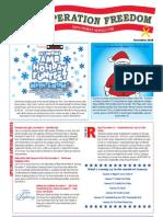 Blue Star Card Newsletter December 2010