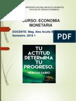 Economía Monetaría