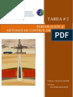 TAREA 2 METODOS DE CONTROL DE POZO