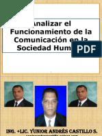 Analizar el Funcionamiento de la Comunicación en la Sociedad Humana.ppt