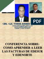 COMO APRENDER A LEER LAS FACTURAS DE EDESUR Y EDENORTE.ppt
