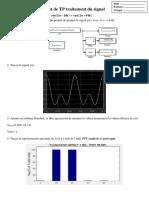 correction Test de TP traitement du signal