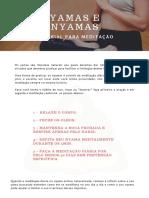 tutorial meditação yama e nyama