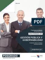 Doctorado en Gestión Pública y Gobernabilidad