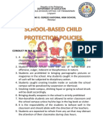 school based child protection policies