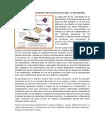 RECURSOS Y SOPORTES TECNOLOGICOS PARA LA ESCRITURA
