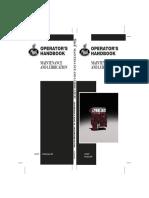 MACK PV776 MX, CMM, CLX, CSM, CXX Maintenance Operator Manual