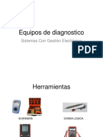 - Equipos de Diagnostico