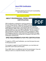 About PPD Certification