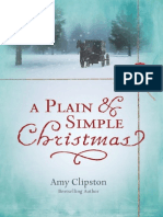 A Plain and Simple Christmas by Amy Clipston, Excerpt