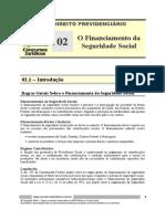 PRV 02 - O Financiamento da Seguridade Social