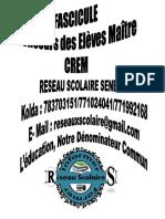 CREM FASCICULE 2018 RESEAU SCOLAIRE