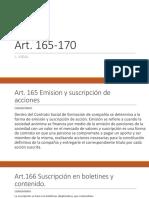 EXPO SOCIE ART.165-170