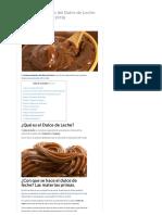 Circuito Productivo del Dulce de Leche_ Proceso y Etapas (2019)