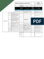 Matriz de Cumplimiento de Requisitos Legales en SSTT